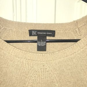 I.N.C. Brown sweater